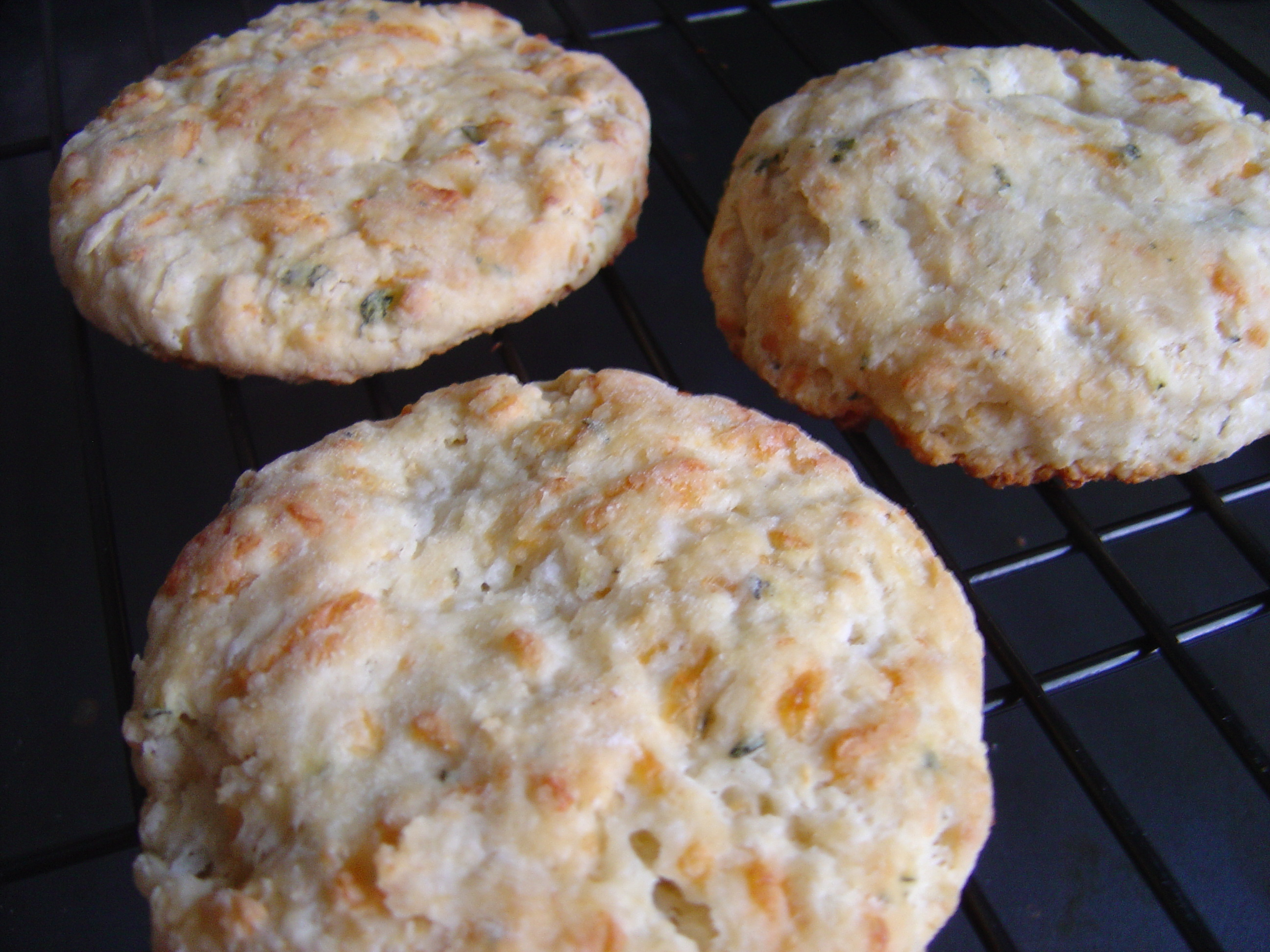 Thyme and Cheddar Biscuits