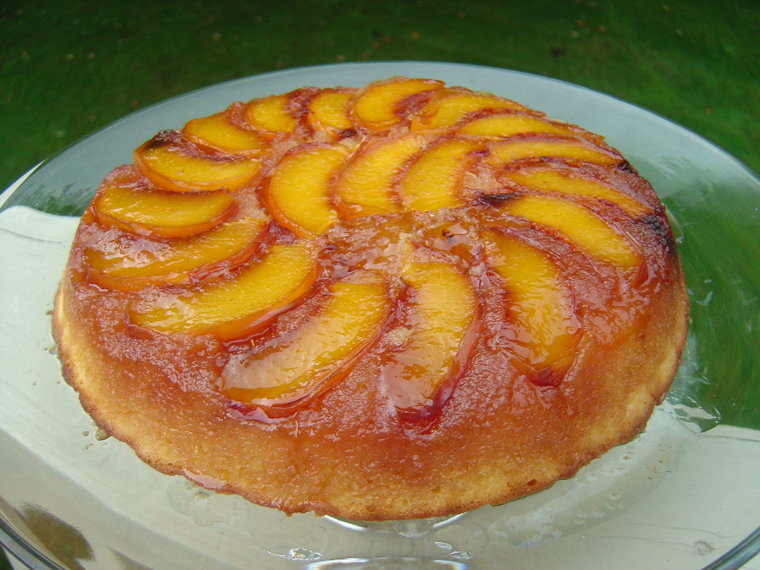 Easy Fresh Peach Cake Recipes