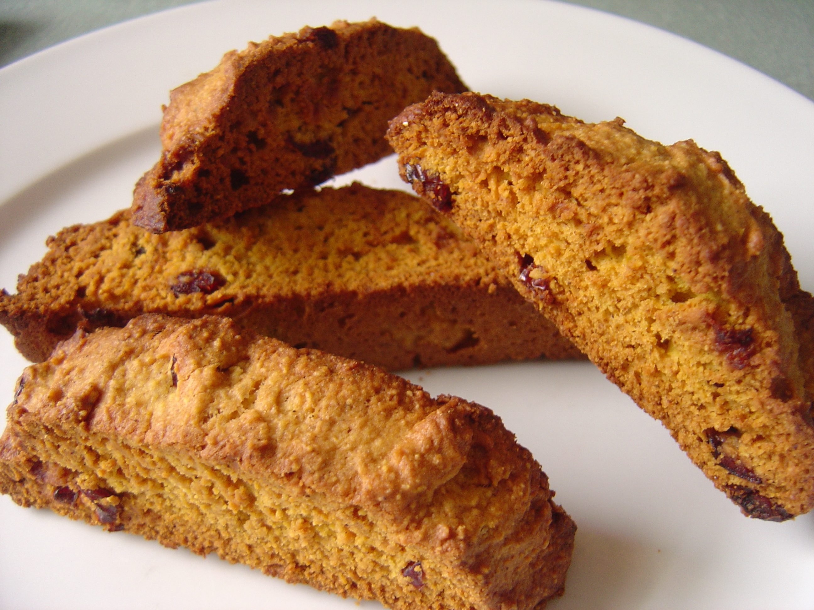 Pumpkin Spice Biscotti - Smells Like Home