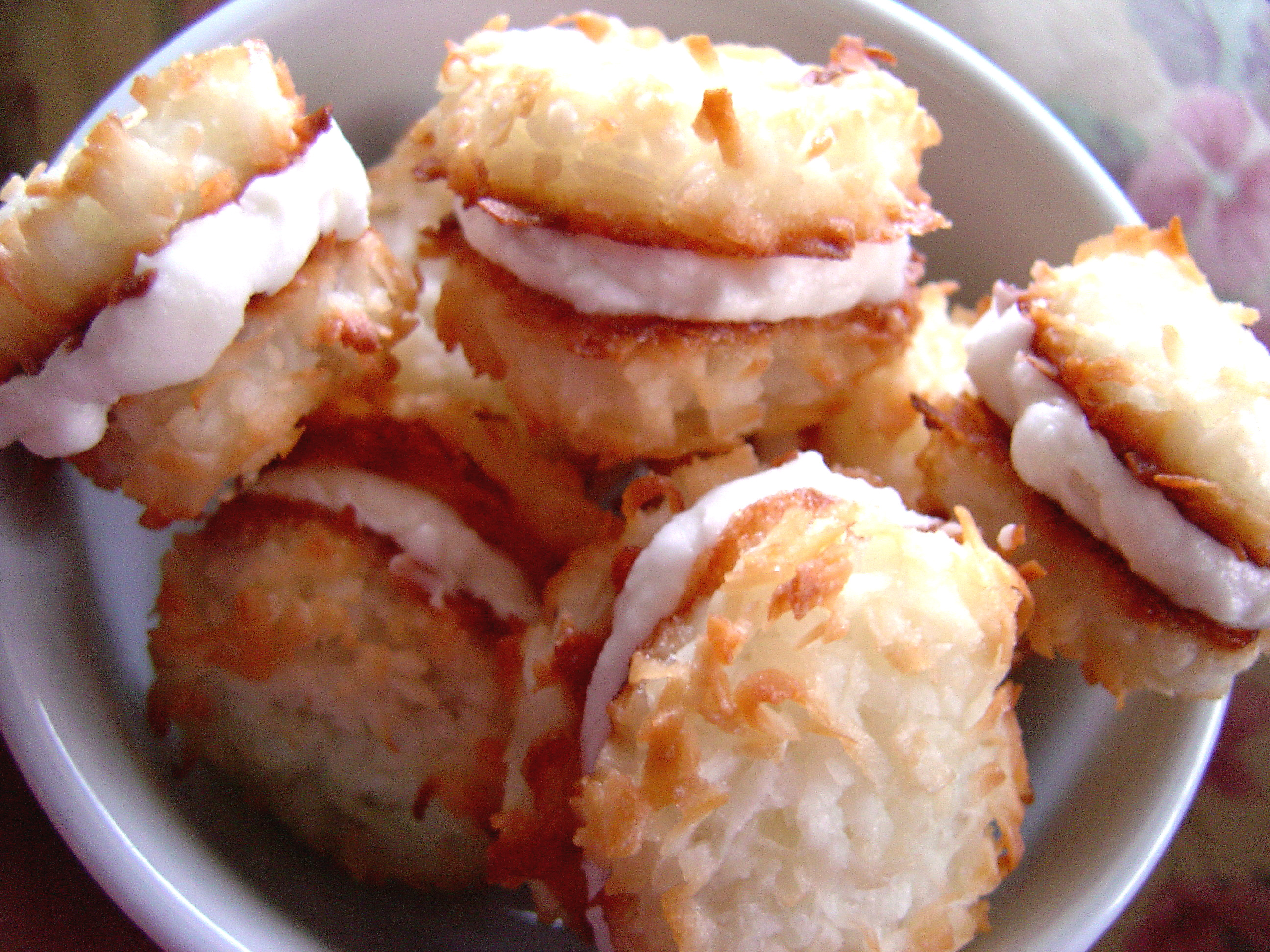 Coconut Cream-Filled Macaroons |