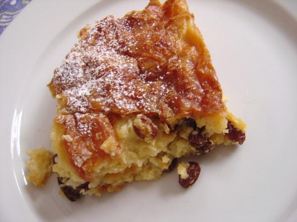 BB: Croissant Bread Pudding  